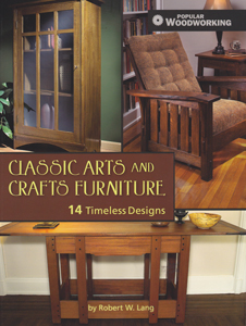craftsman furniture projects book